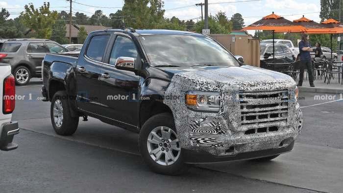 شاحنة جي إم سي كانيون GMC Canyon 2021 مواصفات ، سعر