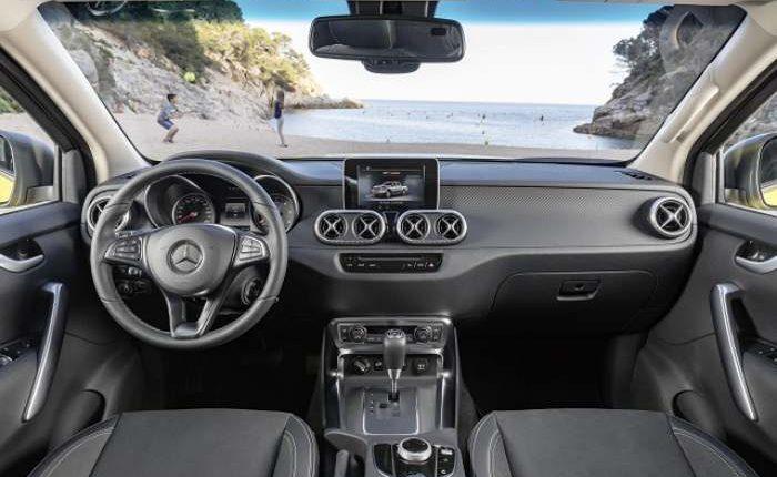 شاحنة بيك آب مرسيدس X-Class 2020 مواصفات ، سعر