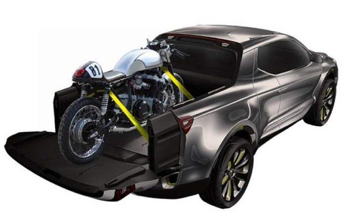 شاحنة بيك آب هيونداي سانتا كروز 2021 بمحرك ديزل جديد