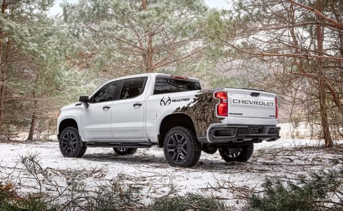 شاحنة سلفرادو Silverado Realtree Edition 2021 مواصفات ، صور