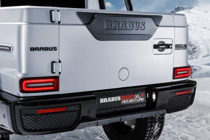 برابوس تحول سيارة مرسيدس AMG G63 إلى شاحنة سوبر بقوة 800 حصان