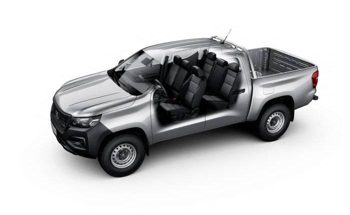 شاحنة بيك آب بيجو  لاندتريك Landtrek 2020 مواصفات ، صور ، محرك