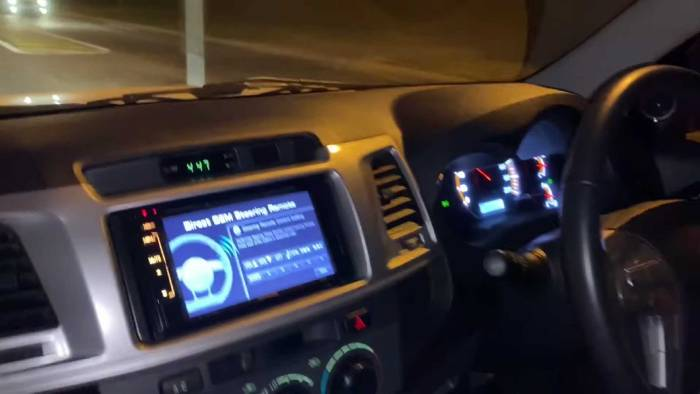 سيارة بيك آب تويوتا هايلكس HiLux بمحرك C63 AMG الألماني