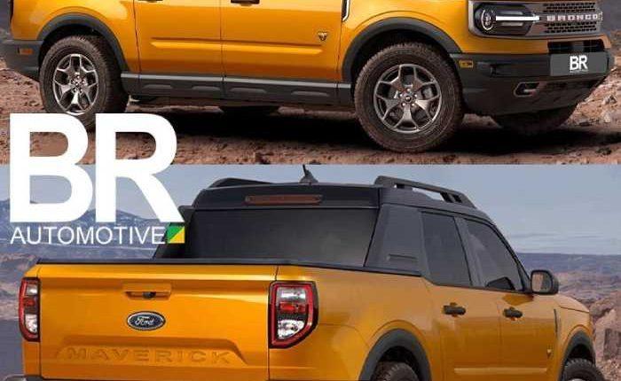 شاحنة فورد مافريك 2022 – فورد رينجر أم بيك أب برونكو