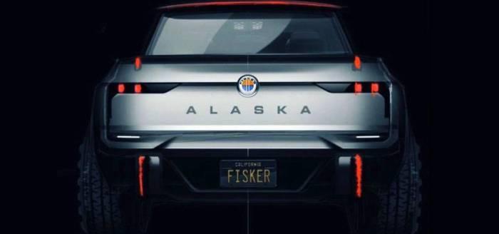 فيسكر يكشف عن شاحنة بيك أب Alaska الكهربائية