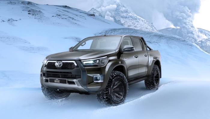 سيارة تويوتا هيلوكس Hilux AT35 2021 شاحنة قوية للطرق الوعرة