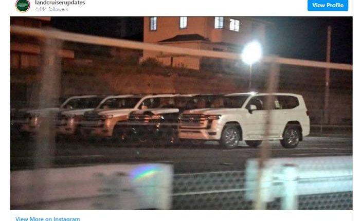 صور تويوتا لاند كروزر 2022 Land Cruiser SUV من الخارج والداخل